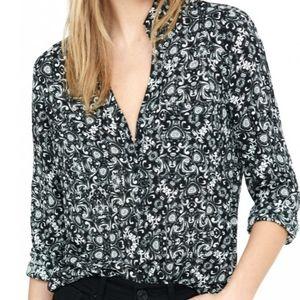 Express Slim Fit Portafino Shirt S/P Office Wear